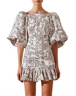 Shona Joy Backless Mini Dress