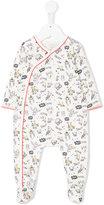 Little Marc Jacobs owl print pyjama