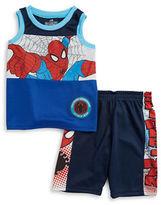 Nannette Boys 2-7 Little Boys Spider-Man Tank and Shorts Set