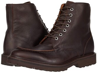 Eleventy Lace-Up Boot (Brown) Men's Shoes