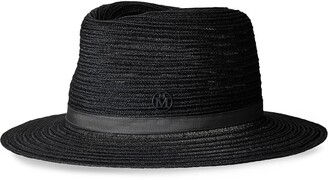 Maison Michel Andre woven fedora hat