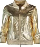 Blugirl Metallic Leather Jacket