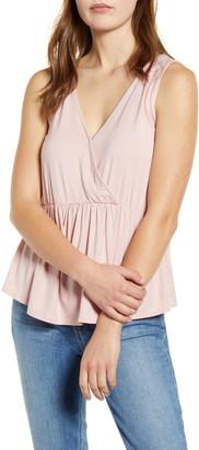 Gibson x International Women's Day Khanh Sleeveless Knit Wrap Top