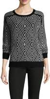 Shae Women's Cotton Crewneck Sweater