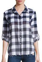 Stateside Plaid Flannel Shirt