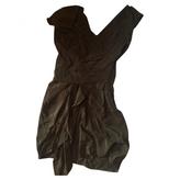 Isabel Marant Khaki Silk Dress