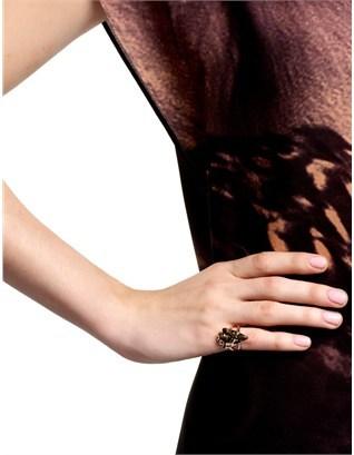 Pamela Love Rose Gold Plated Arrowhead Ring