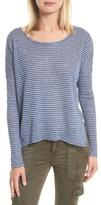 Joie Women's Faya Stripe Linen Sweater