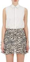 Derek Lam 10 Crosby Women's Cotton Poplin Sleeveless Shirt