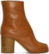Maison Margiela Brown Leather Tabi Boots
