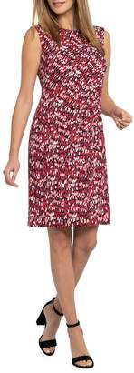 Nic+Zoe Bright Burst Twist Sheath Dress