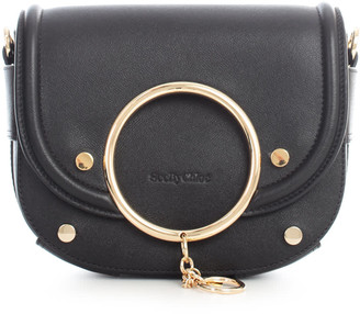 See by Chloe Solid Colour Rounded Crossbody W/ring
