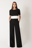 Black Halo Leilani 2 Piece Jumpsuit