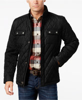Tasso Elba Men's Water Resistant Quilted Colorblocked Jacket, Only at Macy's