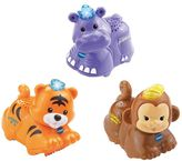 Vtech Toot-Toot Animals 3 Pack Tiger, Hippo and Monkey
