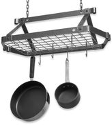 Enclume Decor Retro Hammered Steel Rectangular Pot Rack