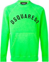 DSQUARED2 logo print sweatshirt - men - Cotton - M