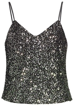 Ramy Brook Julet Sequin Tank