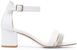 Fabiana Filippi Metal-Embellished Sandals