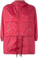 Moncler drawstring waist raincoat - women - Polyamide - 2