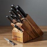 Crate & Barrel Wüsthof ® Classic 10-Piece Knife Block Set