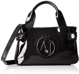 Armani Jeans Eco Patent Leather Crossbody Mini Bag