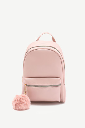 Ardene Pompom Backpack