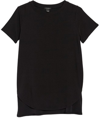 Halogen Short Sleeve Tunic T-Shirt
