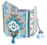 Mishky Lys Beaded Tassel Charm Bracelet