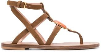 Alberta Ferretti Fantasy strappy sandals