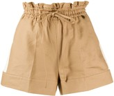 Twin-Set Twin Set paperbag waist-tied shorts