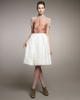 Rochas Angora A-Line Skirt