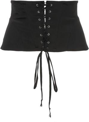 Fleur Du Mal lacing corset belt