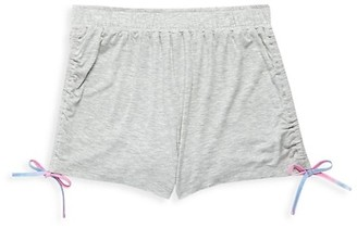 Design History Girl's Drawstring Side-Tie Shorts