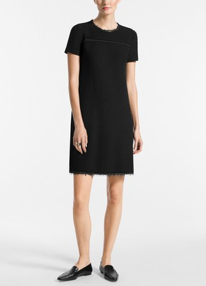 St. John Soft Boucle Knit Dress
