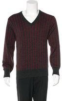 Y's Yohji Yamamoto Striped Wool Sweater