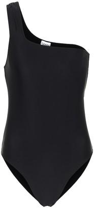 Ganni One-shoulder swimsuit