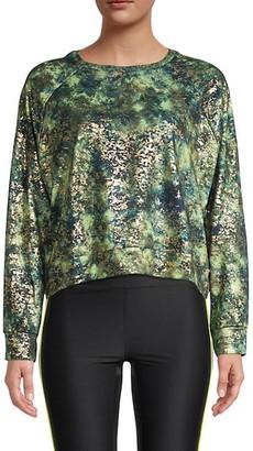 Terez Rainforest Printed Sweatshirt