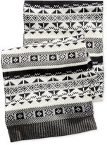 Club Room Men's Fair Isle Scarf, Only at Macy's