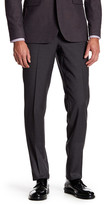 Ted Baker Trim Fit Flat Front Pant