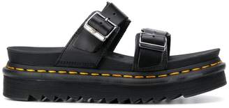Dr. Martens Buckled Ridged Sole Sandals