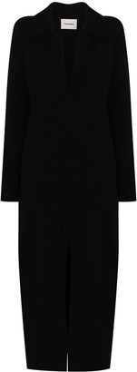 Nanushka Hope long-sleeve maxi dress