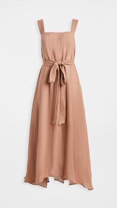 Le Kasha Assiout Linen Gauze Dress