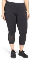Nike Plus Size Women's Power Epic Crop Run Tights