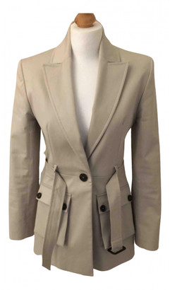 ALEXACHUNG Alexa Chung Grey Cotton Jackets