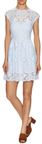 Saylor Lucille Lace Cotton Fit And Flare Dress