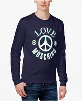 Love Moschino Men's Slim-Fit Logo-Graphic Cotton Sweatshirt