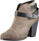 Rag and Bone Rag & Bone Harrow Waxed Suede Ankle Boot, Clay