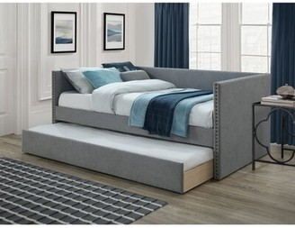 Brayden Studio Aubrielle Franklin Twin Daybed with Trundle Color: Gray