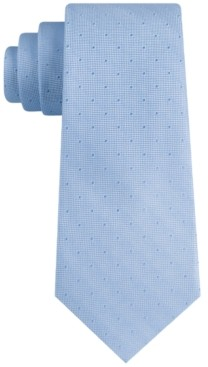 Tommy Hilfiger Men's Slim Textured Dot Tie